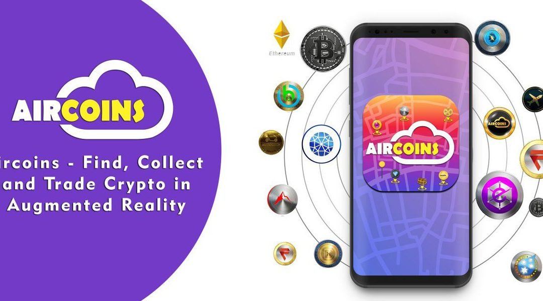 PRESS RELEASE: Earth Dollar Teams Up with Aircoins for AR Video Game